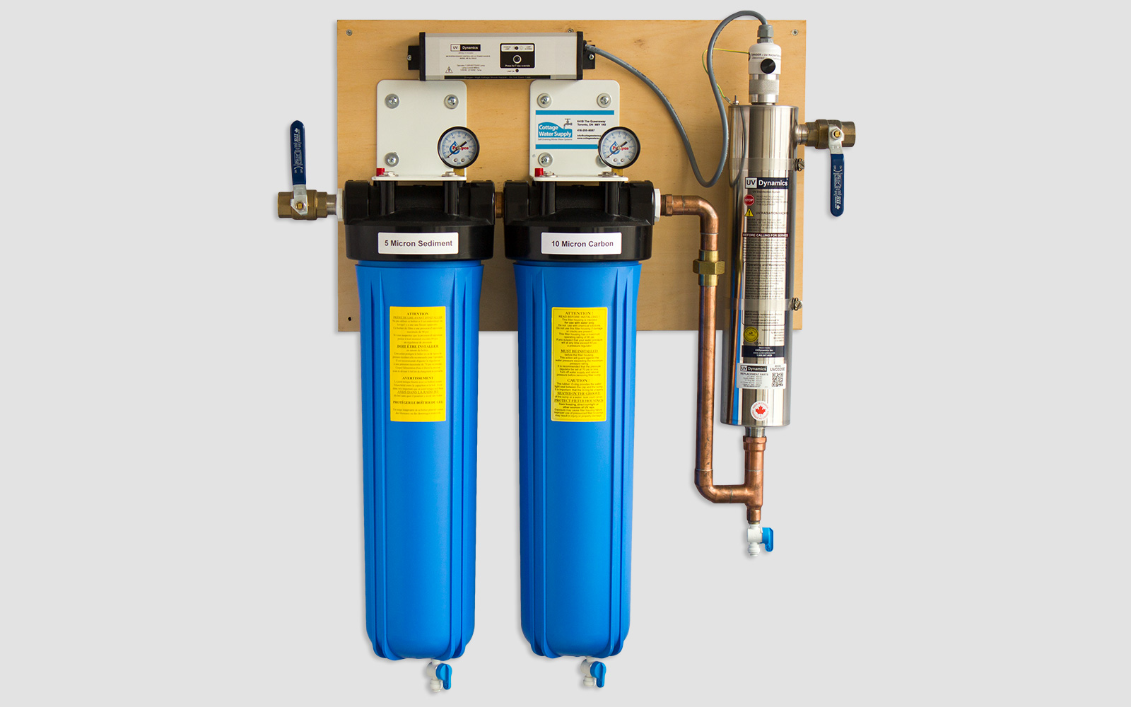 Filtration & UV Purification Systems